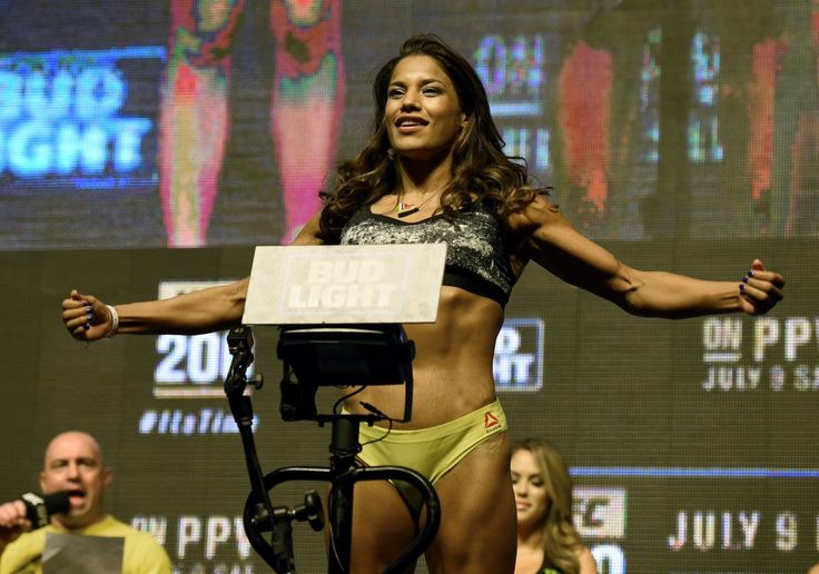 Julianna Pena: 'Nobody cares about Ronda Rousey and her fat arms anymore' : Julianna Pena took a shot at former UFC women's bantamweight champion Ronda Rousey. (Getty Images)