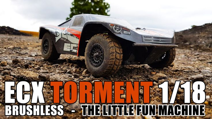 ECX Torment 1/18 Brushless - The little fun machine #ecx #ecxrc #torment #minibrushless #brushless #rc #rc4life