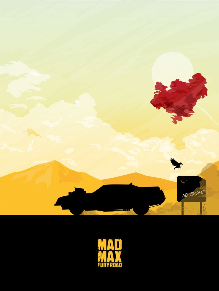 Mad Max: Fury Road Alternative Poster by Maxime Crouzet