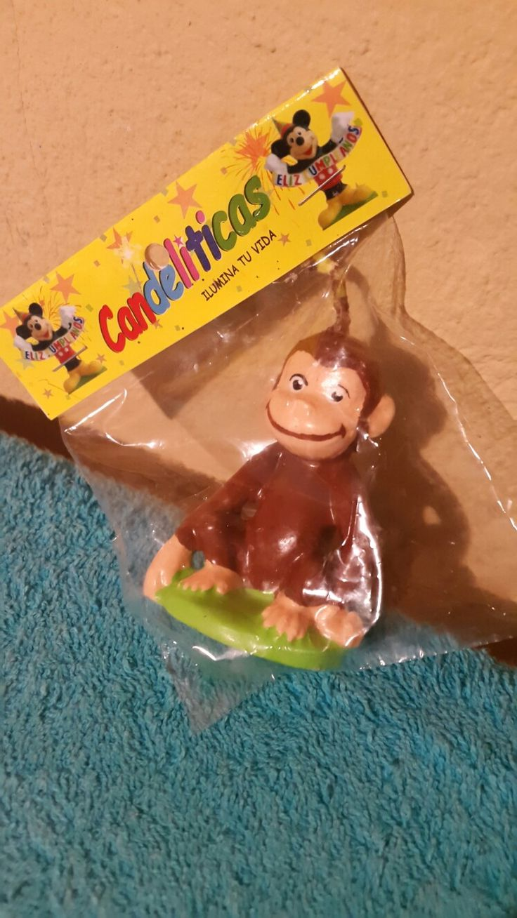 Curious George Candle, Birthday party
