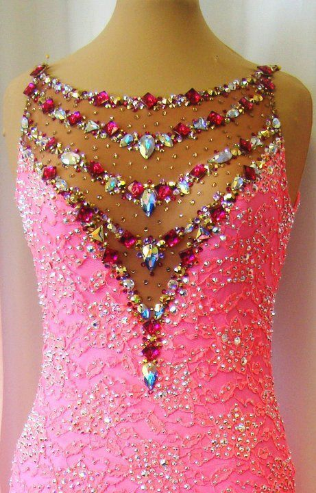 Amazing beading on the neckline!