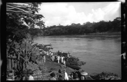 Mercado a la orilla del Río Magdalena | banrepcultural.org