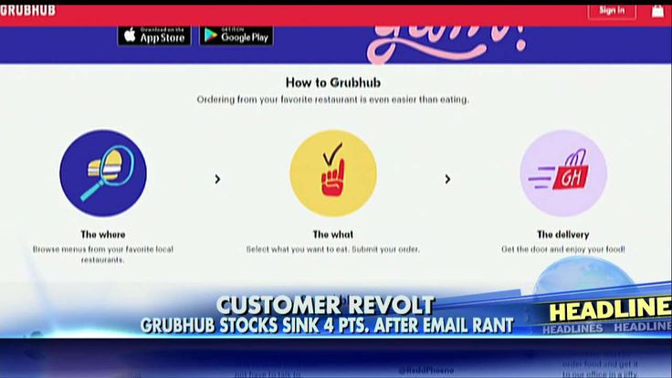 GrubHub Faces Backlash, Stock Drop After CEO's Anti-Trump Email