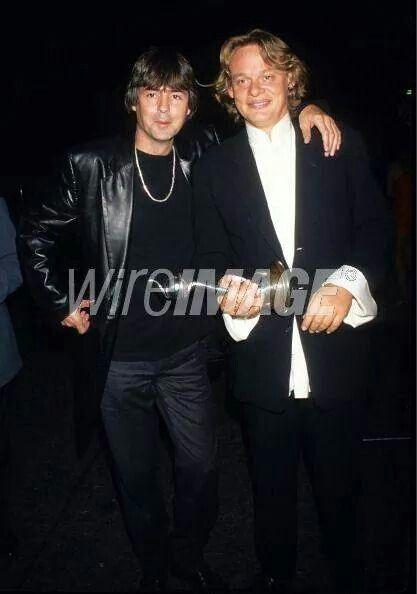 Men behaving badly, Martin Clunes and Neil Morrissey.