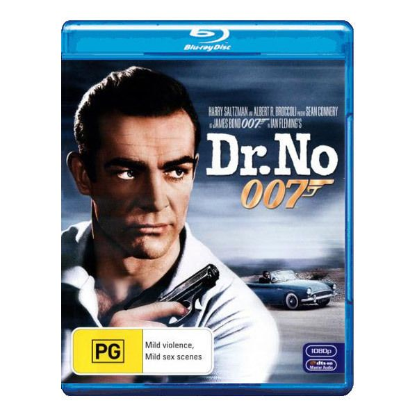 Dr. No Blu-ray Brand New Region B Aust. Sean Connery As