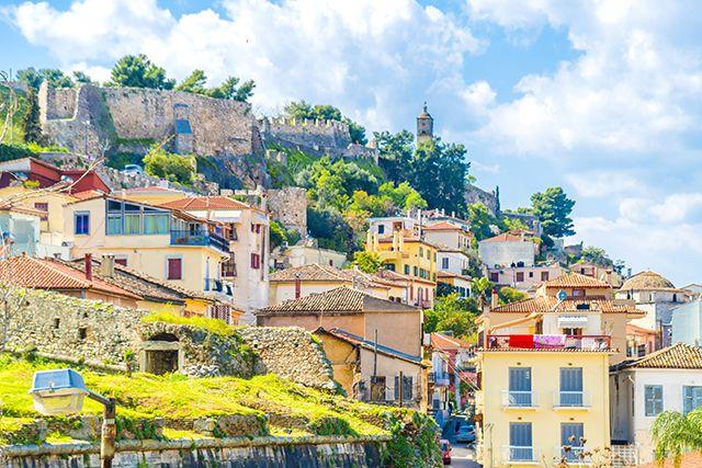 Vieille ville de Nauplie, Péloponnèse, Grèce…