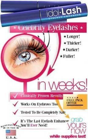 Idol Lash is a unique eyelash growth serum that will help you achieve Longer, Darker, Thicker and Beautiful eyelashes in a matter of weeks. Like liquid eyeliner, Idol Lash is simply applied once a day.