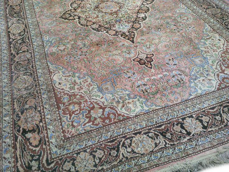 Kashmir Tapijt | Perzische Tapijten | Oosterse Tapijten | Handgeknoopte Tapijten | Vintage tapijten Goedkoop en dus betaalbaar!