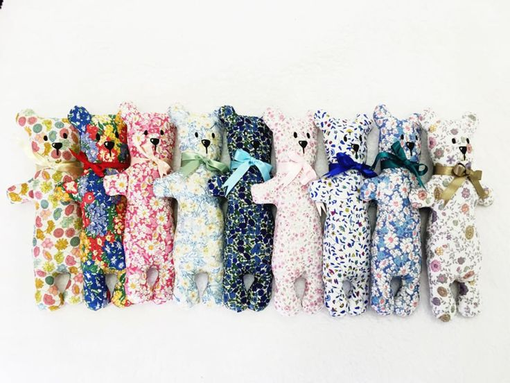 """""""Yep, totally in love with the Liberty London fabric - how cute are those teddies!! { www.etsy.com/shop/Bantuyi } #comfortblanket #libertylondon…"""""""
