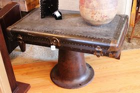 Trunk lid to coffee table.