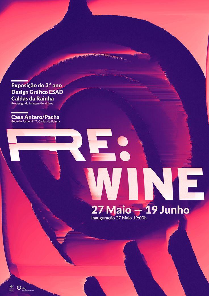 Re:wine on Behance