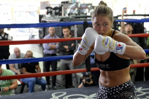 Ronda Rousey 'Absolutely' Wants Cris Cyborg UFC Fight, Says Dana White