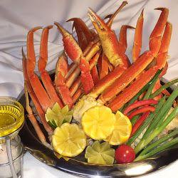 "Alaskan ""Snow"" Crab Legs-The Boar's Head Restaurant & Tavern -Panama City Beach, Florida  www.boarsheadrestaurant.com"