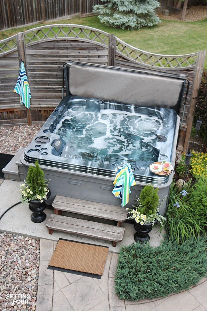 Best 25+ Hot tubs landscaping ideas on Pinterest | Hot ...