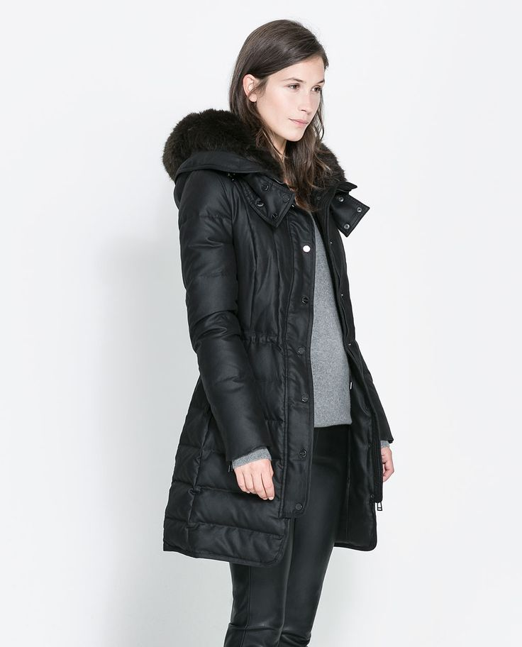 8 best Black puffer jacket images on Pinterest
