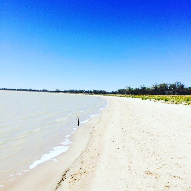 Lake numulla, currawinya national park Queensland Australia @qldparks