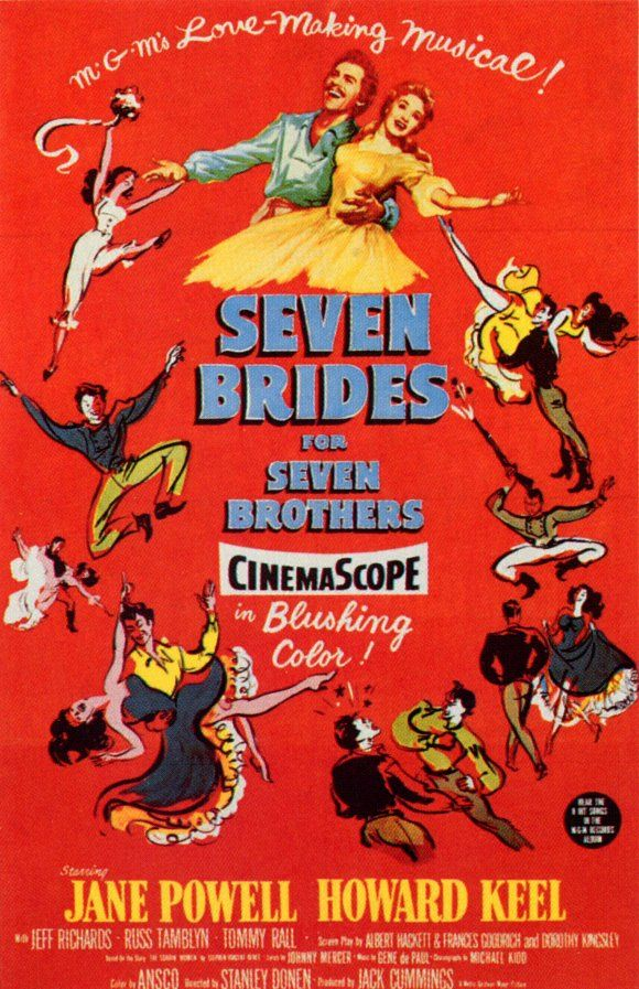 Seven Brides for Seven Brothers. I know this is not a book, but one
