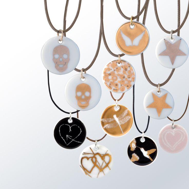 Bernardaud medaillons collection bernardaud porcelaine porcelain bijoux jewelry