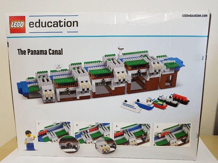 Lego Education-2000451 - Panamakanaal  Ik ben het aanbieden van: Lego 2000451 onderwijs PanamakanaalDe set is oorspronkelijk verzegeld.Lego Education 2000451 - het Panamakanaal Kanal SetNieuw in originele verpakkingDe set is geïmporteerd vanuit Panama en waarde goedmet inbegrip van invoer rechten en 19% BTWalle rechten betaald.Echter werd het niet geopend door douane zoals sommige andere sets het nog oorspronkelijk met Lego zegels verzegeld.Helaas kreeg het enkele deuken tijdens de…