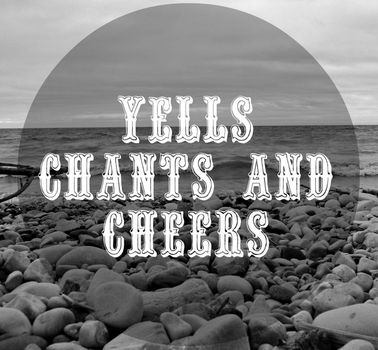 Yells, Chants, and Cheers are meant to get the campers moving and shouting. These songs let out all of the built-up tension from the day and help campers and staff loosen up or warm up. They can al…