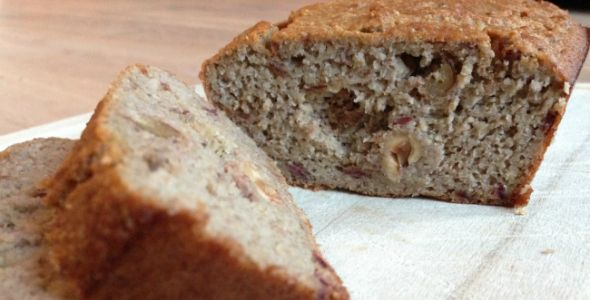 Recept: Gezond bananenbrood #nosugar