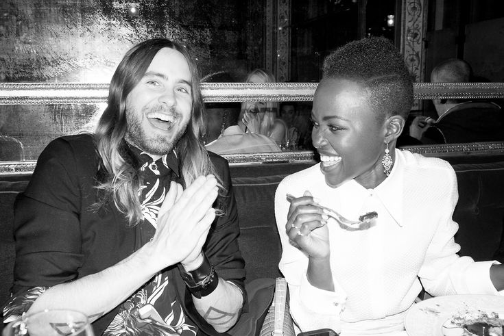 Jared and Lupita are clearly besties. #Sigh