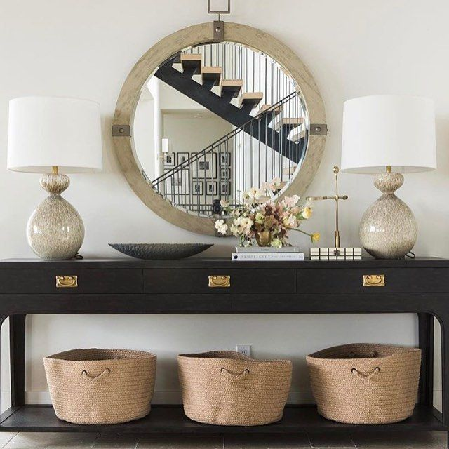 Fantastic Foyer Ideas To Make The Perfect First Impression: 25+ Best Foyer Mirror Ideas On Pinterest