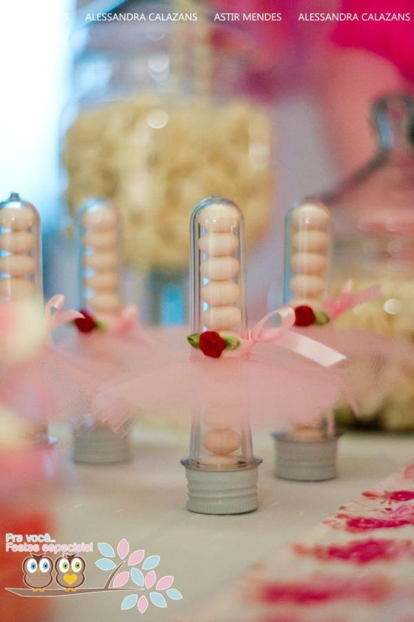 ballerina party favors.  Love this idea