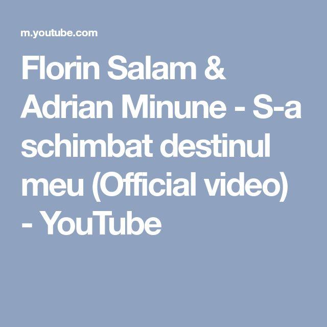 Florin Salam & Adrian Minune - S-a schimbat destinul meu (Official video) - YouTube