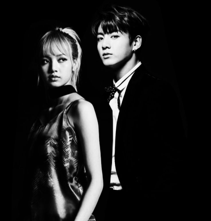 Lisa (BLACKPINK) and Jungkook (BTS) fan edit #liskook #blackpink #bts #fanedit #jungkook #lisa