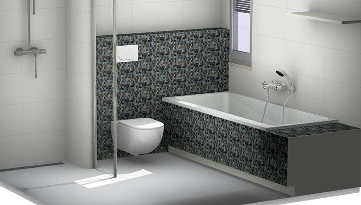 25 beste idee n over badkamer tegels ontwerpen op for Tekenprogramma bouw