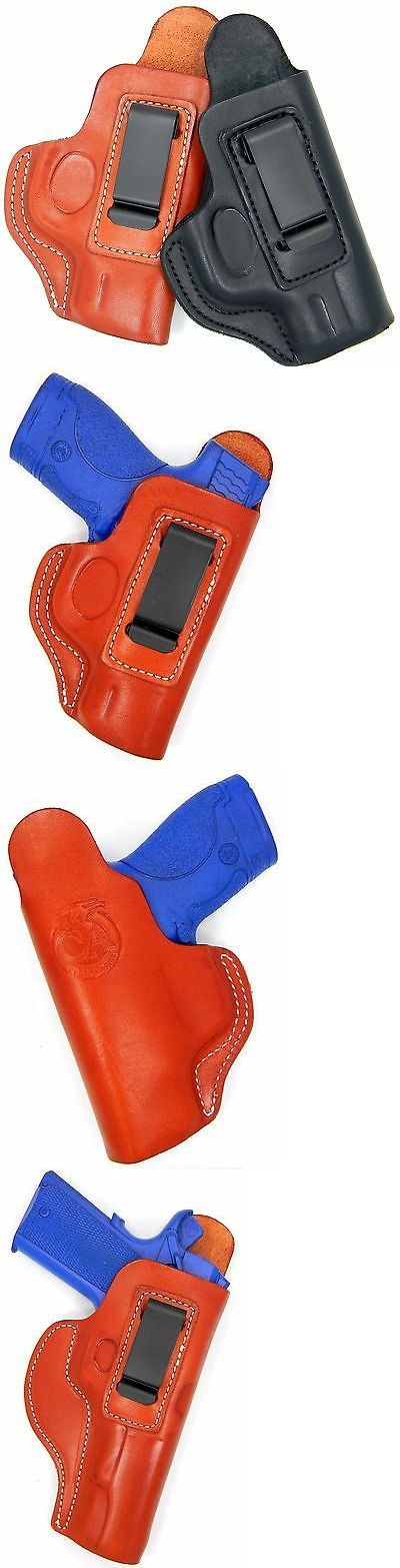 Holsters 177885: Cebeci Leather Iwb Inside Pants Ccw Holster With Comfort Tab Body-Shield For... -> BUY IT NOW ONLY: $34.95 on eBay!