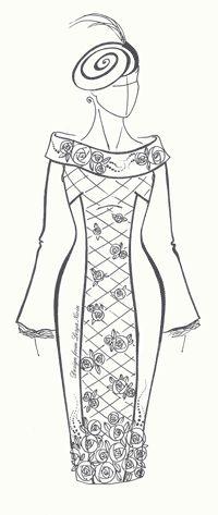 Перевод нагрудной выточки в боковой шов (Выкройки своими руками)  Методы разработки выкроек разных фасонов перемещением нагрудной вытачки дают огромные возможности для создания разнообразных моделей женского платья при умелом их использовании.