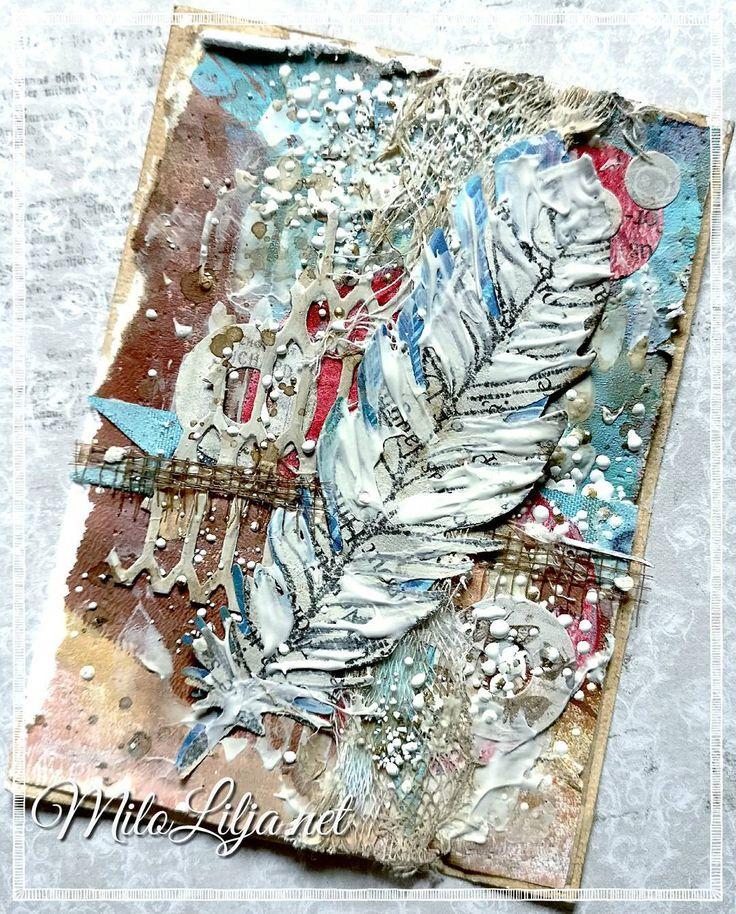 See all my ATC cards at: {#miloliljaartATC} {#miloliljaART} {#coffesplash}  {#cheesecloth} {#embossingpowder} {#feather}  {#myart} {#scrapbooking} {#tarjetas} {#handmadecard} {#kortlaging} {#scrapping} {#instadaily} {#art} {#instaart} {#artist} {#masterpiece} {#paperart} {#crafting} {#creative} {#scraptop} {#vintage} {#shabbychic} {#mixedmedia} {#atc} {#atctrade} {#atccard} {#artisttradingcard} {#tradingcards} {#cardmaking}