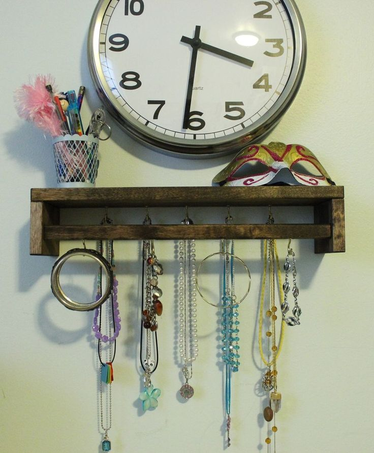 DIY Jewelry Holder out of Spice Rack - IKEA Hack