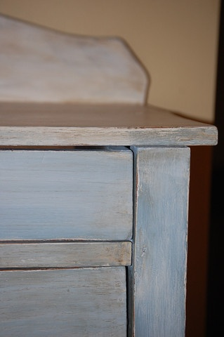 Annie Sloan Chalk Paint Louis Blue and Old White
