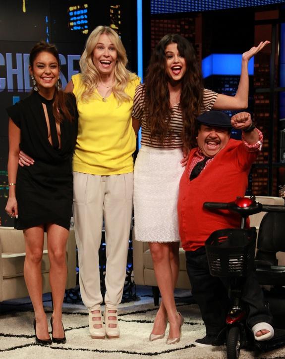 Watch Selena Gomez on Chelsea Lately tonight! March 21, 2013.