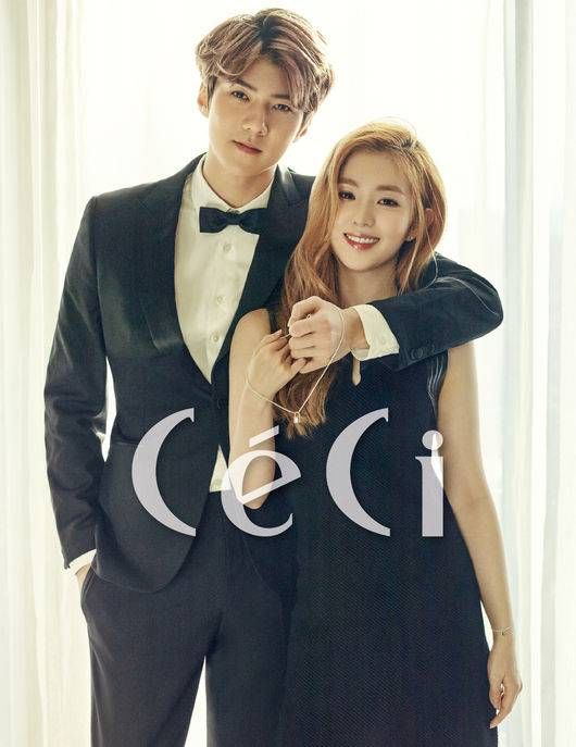 EXO's Sehun and Red Velvet's Irene couple up for 'CeCi' | allkpop.com