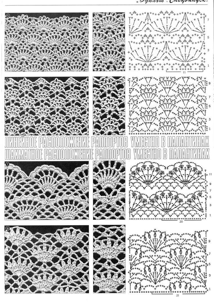 Crochet stitches - Кликните для закрытия картинки, нажмите и удерживайте для перемещения