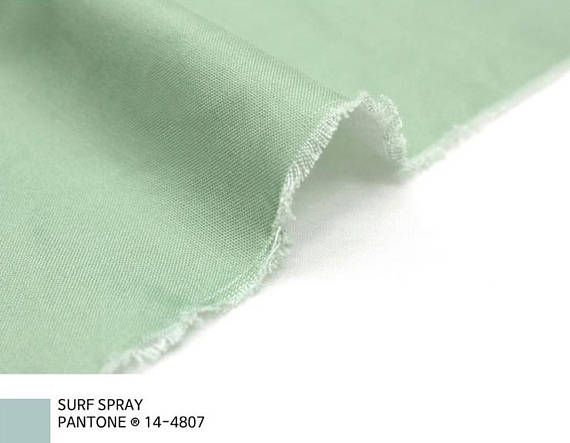 Solid Cotton by the yard width 44 inches 72680 Surf Spray