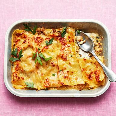 Veggolasagne med citron och ost | Recept ICA.se