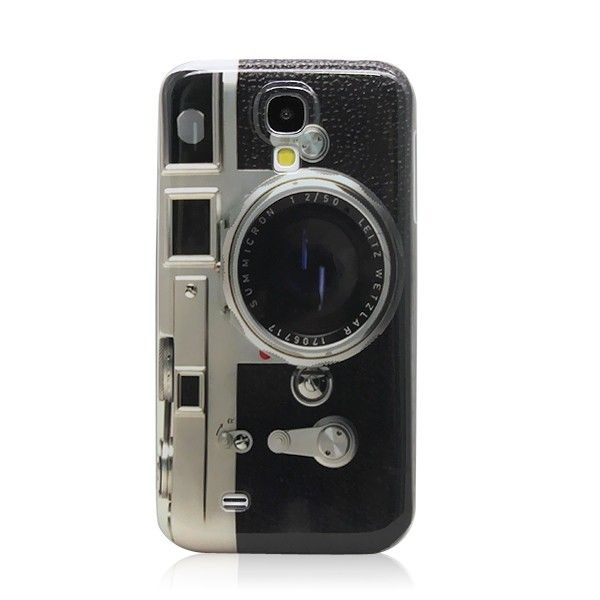 Camera Design Hard Skin Case Cover for Samsung GALAXY S4 i9500 - Cheap Samsung Galaxy S4 Cases - Galaxy S4 Cases