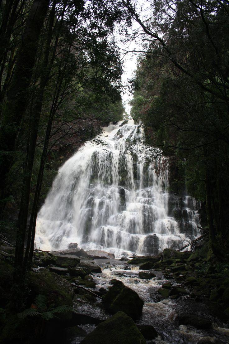 West Coast Tasmania. Nelson Falls