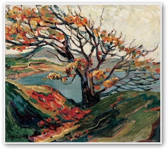 Emily Carr Tree in Autumn