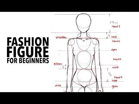 I pinned this to my board, because this is how I learn how to draw fashion figures.