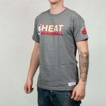 Mitchell & Ness NBA Miami Heat Team Issue Traditional Tee