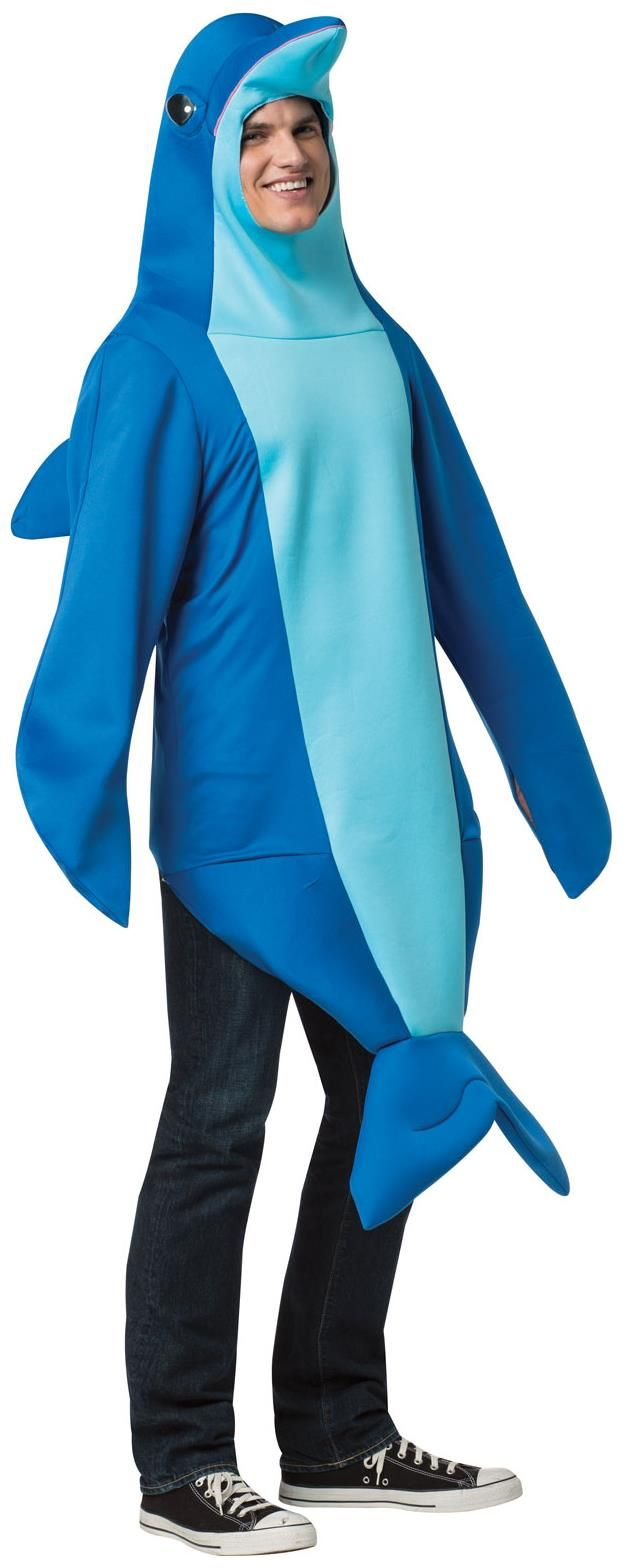 PartyBell.com - Dolphin Adult #Costume