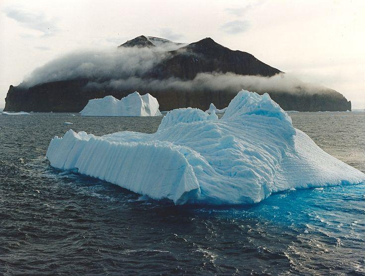 Iceberg taken with polarising filter