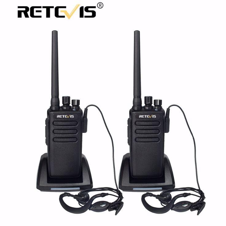 2pcs 10W Walkie Talkie Retevis RT81 DMR Digital/Analog 2 Modes 32CH UHF Encryption Long Range 2 Way Hf Radio For Hunting/Travel #Affiliate