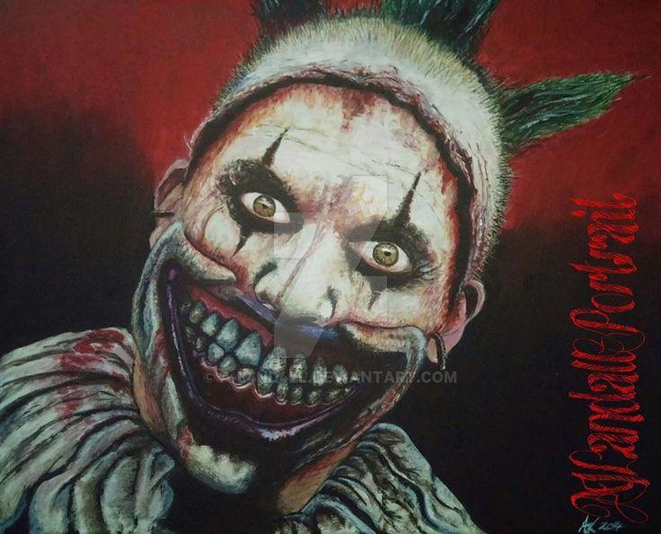 American horror story freakshow clown
